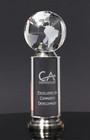 Crystal Cylinder Globe Award  8A