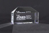 Crystal House Paperweight  N10