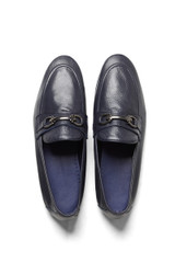 Dario Leather Loafer Navy