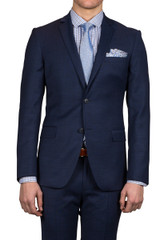 Sobral Stretch Suit Jacket Navy