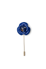 Cory Metal Lapel Pin Blue