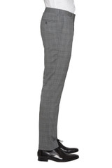 Jet Stretch Check Pant Grey