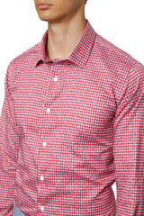 Xavier Check Print Shirt