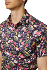 Noah Tropical Short Sleeve Print Shirt