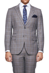 Finn Check Suit Jacket
