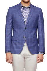Loyd Check Blazer Blue/Navy