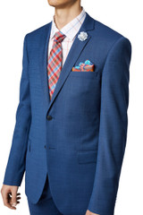 Sobral Stretch Suit Jacket Blue