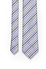 Gingham Tie Lilac