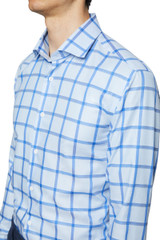 Larry Block Check Shirt