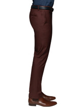 Otto Tailored Chino Burgandy