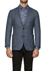 Mont Slim Blazer Denim