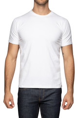 Joey Stretch Tee White