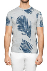 Errol Palm Tee Grey
