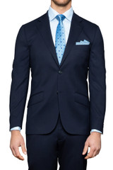 Theodore Stretch Suit Jacket Navy