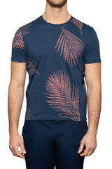 Errol Palm Tee Navy