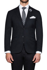 Theodore Stretch Suit Jacket Black