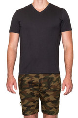 Ethan Lux Tee Anthracite
