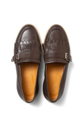 Danny Buckle Loafer Brown