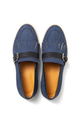 Terry Canvas Loafer Navy