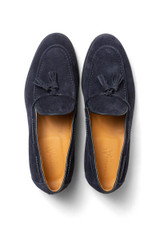 Callum Tassle Loafer Navy