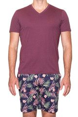 Ethan Lux Tee Magenta