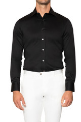 Reid Stretch Shirt BLACK