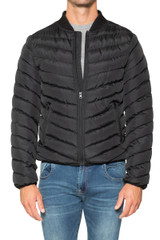 Tom Quilted Bomber BLACK