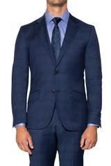 Carl Check Suit Jacket NAVY