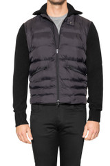 Benny Knitted Puffa Jacket BLACK