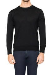 Jake Sport Crew Knit BLACK