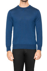 Jake Sport Crew Knit BLUE