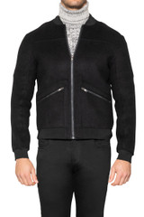 Harris Zip Jacket BLACK