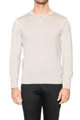 Jake Sport Crew Knit BONE