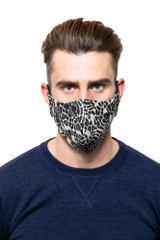 Mason Printed Mask NATURAL/BLK