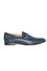 Arturo Perforated Loafer BLUE