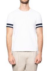 Kye Mercerised Piquet Tee WHITE