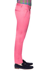 Leo Slim Pleat Pant PINK