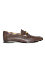 Arturo Perforated Loafer BROWN