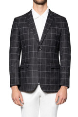 Rory Chalk Check Jacket BLACK/WHITE