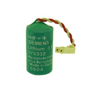Siemens 575332 Battery for PLC Logic Control