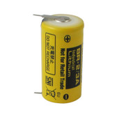 Panasonic BR-2/3AE5SP Battery - 3V Lithium 2/3 A with 2 Pins