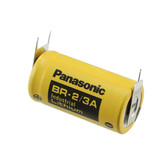 Panasonic BR-2/3AE2SP Battery - 3V Lithium 2/3 A with 3 Pins