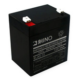 12 Volt 5.0 Ah Battery - Rhino SLA5-12 Sealed Lead Acid Rechargeable