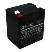 12 Volt 5.0 Ah Battery - Rhino SLA5-12 Sealed Lead Acid Rechargeable