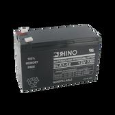 12 Volt 7.0 Ah Battery - Rhino SLA7-12 Sealed Lead Acid Rechargeable