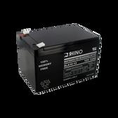 12 Volt 12.0 Ah Battery - Rhino SLA10-12 Sealed Lead Acid Rechargeable