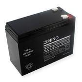 12 Volt 10.0 Ah Battery - Rhino SLA10-12T-T25 Sealed Lead Acid Rechargeable