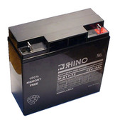 12 Volt 18.0 Ah Battery - Rhino SLA17-12 Sealed Lead Acid Rechargeable