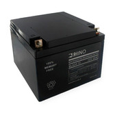 12 Volt 26.0 Ah Battery - Rhino SLA24-12 Sealed Lead Acid Rechargeable