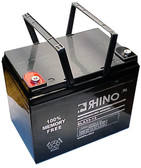 12 Volt 35.0 Ah Battery - Rhino SLA33-12 Sealed Lead Acid Rechargeable